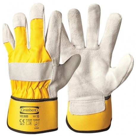 Skórzane rękawice robocze (1)